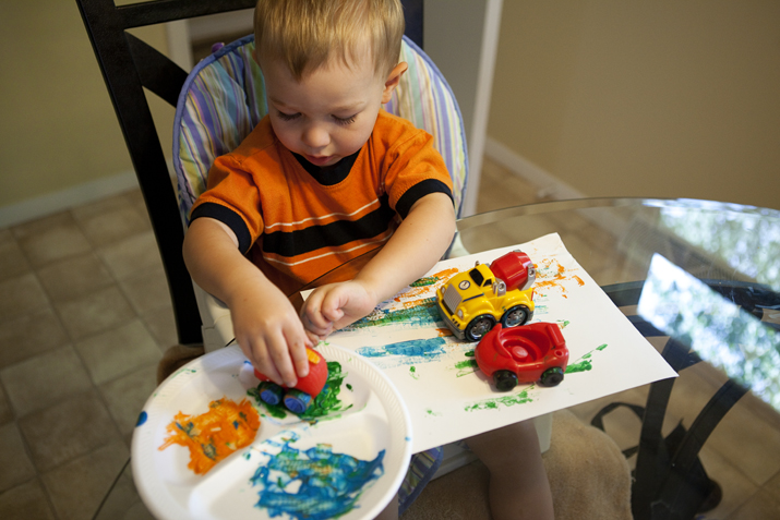 Fun and Easy Toddler Activities with Cars