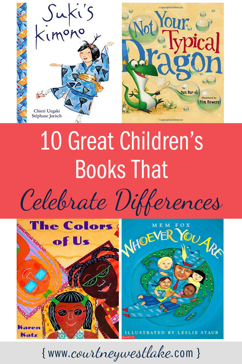 10 great children's books that celebrate differences