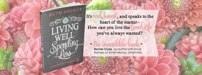 Living Well Spending Less – new book release!