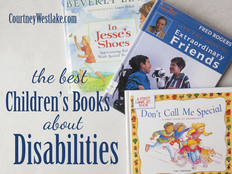 A fantastic list of children's books about disabilities and differences. Reading with your kids is a great tool for discussing how we are all made uniquely wonderful!