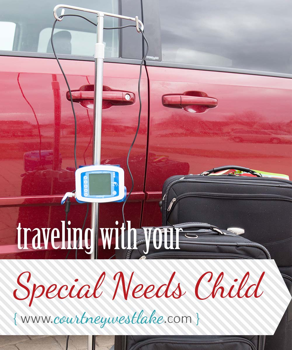 Some great tips for taking a road trip with a special needs child!