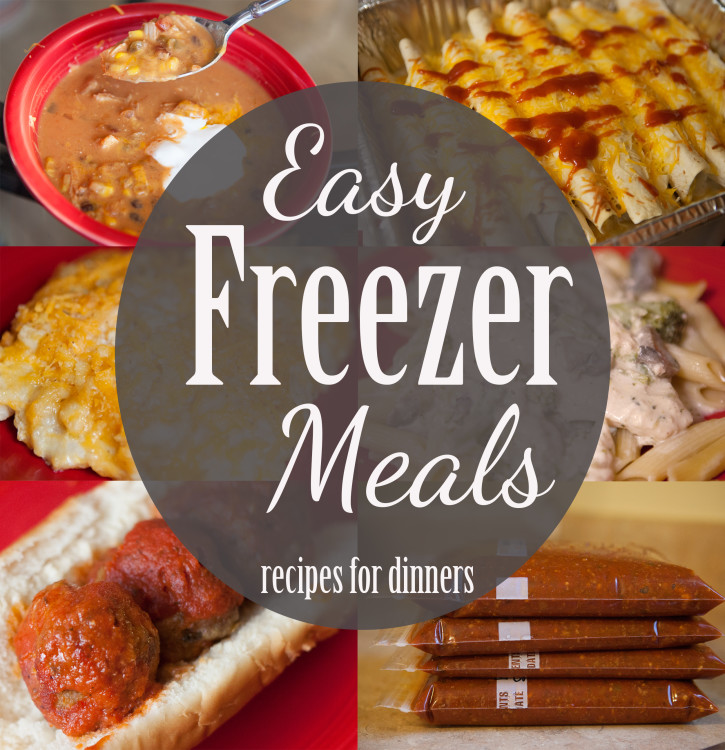 Our favorite freezer meals for dinner courtney westlake recipes for more than a dozen inexpensive and easy freezer meals for dinner time forumfinder Images