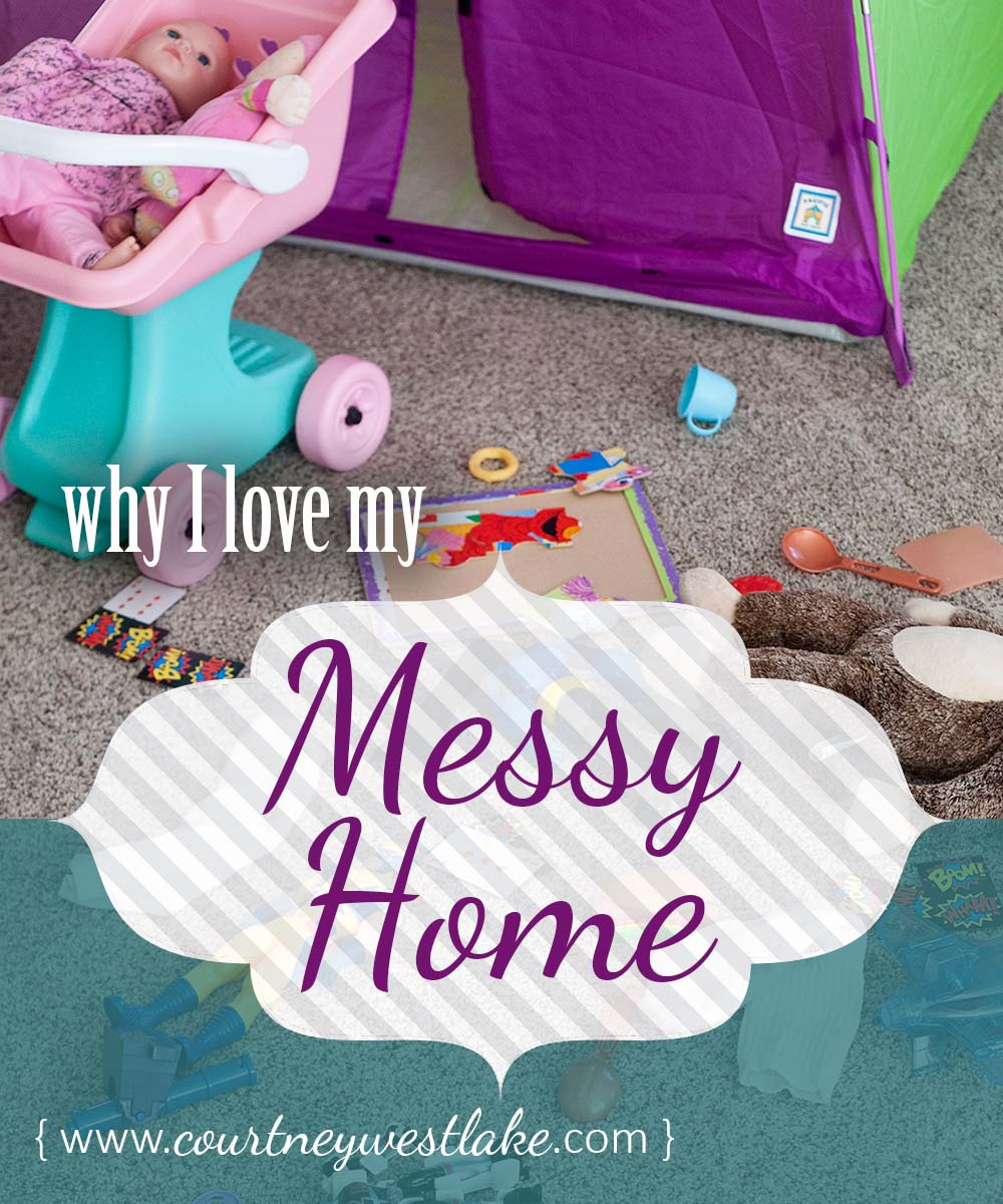 Do you wish for a clean and organized home with moments of quiet in the midst of little kids? I used to as well - until this happened.