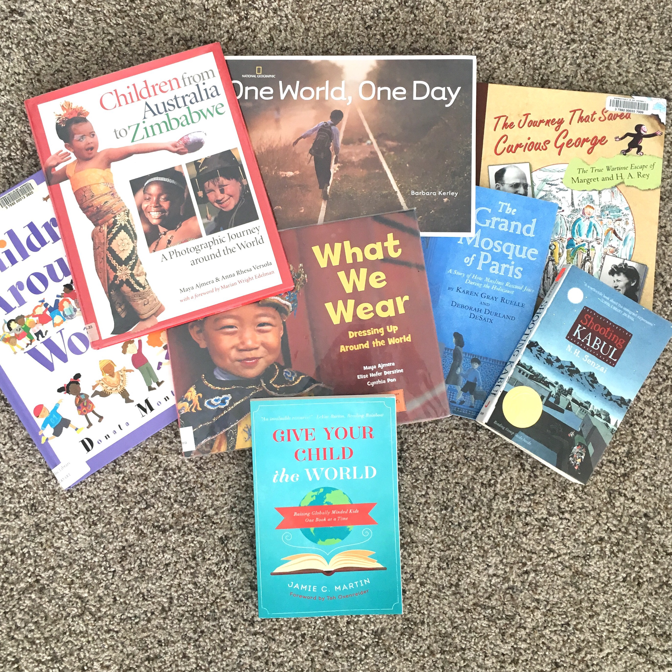 Give Your Child the World – through books!