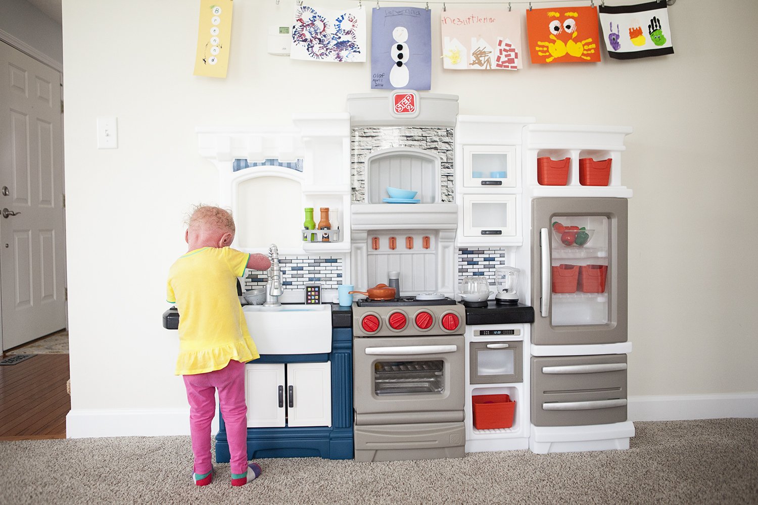 A play kitchen that sparks creativity and imagination!