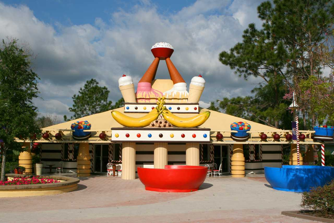 Ice Cream Palace, Give Kids the World Village