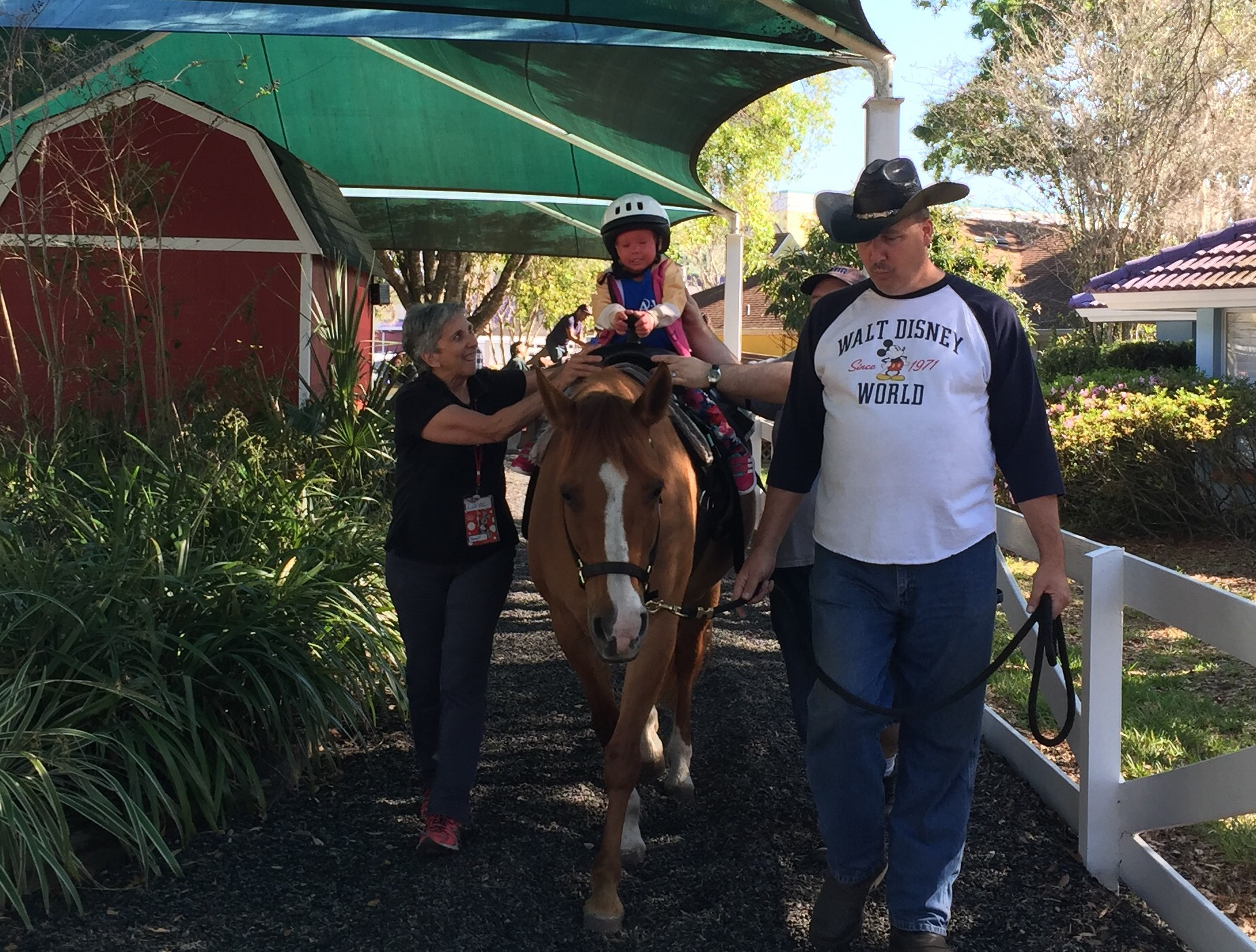 Keaton's Korral, horseback riding at Give Kids the World Village