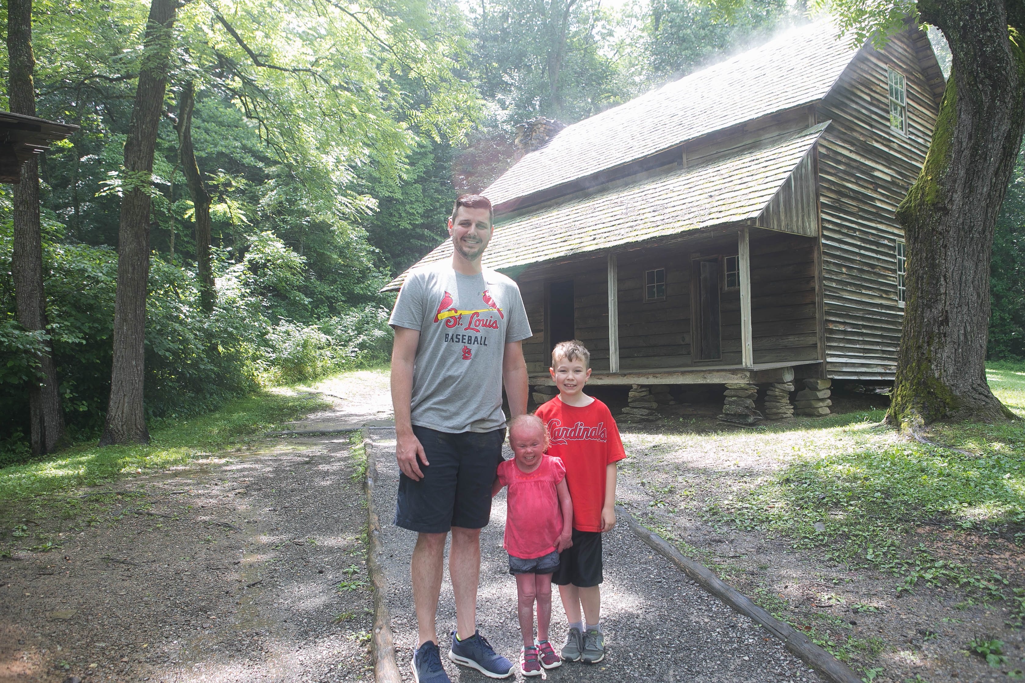 Visiting historic Cade's cove in the Smoky Mountains
