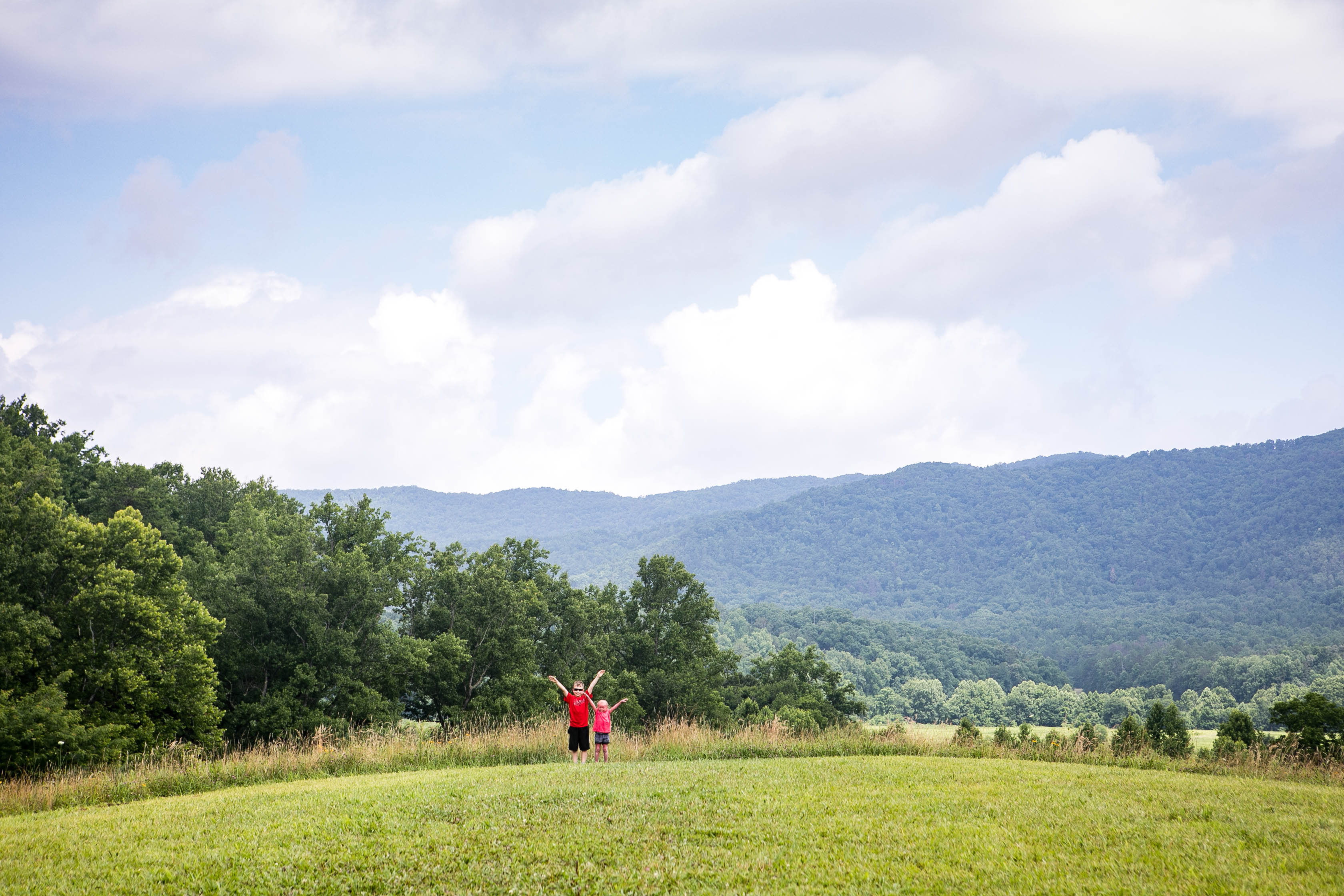 Visit Cade's Cove in the smoky mountains