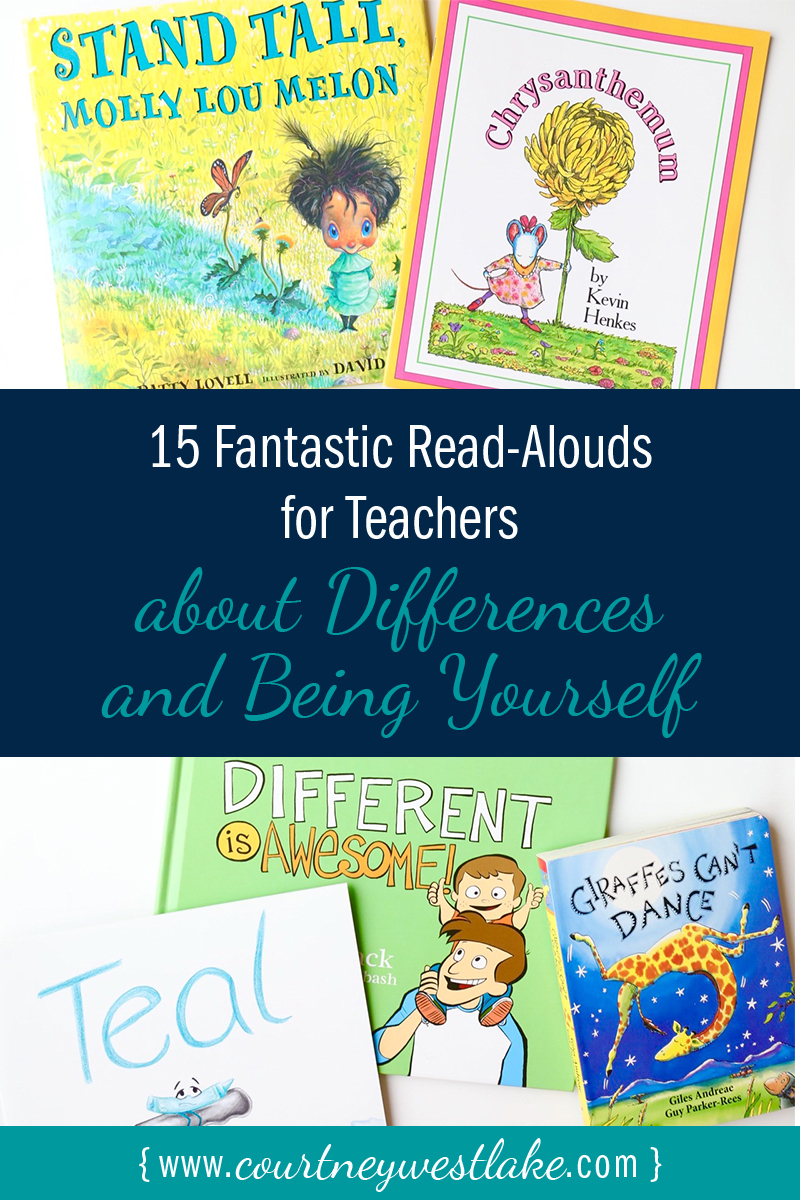 Best read-aloud books for teachers about differences and being yourself