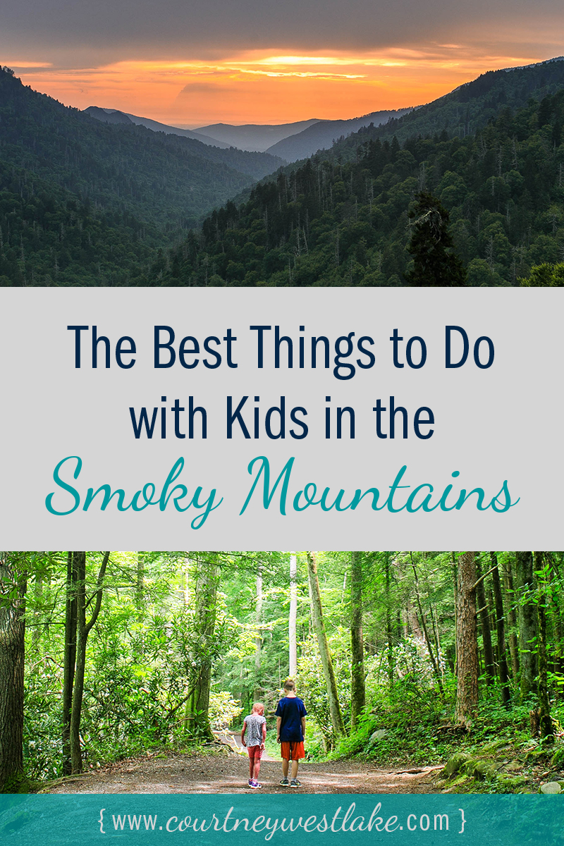 A list of the best things to do on vacation with your kids in the smoky mountains