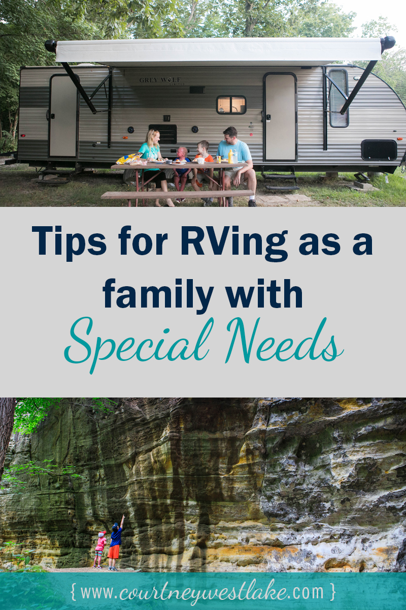 Great tips for RVing with special needs